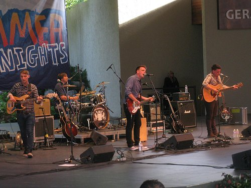 The Dunwells at Ford Amphitheater