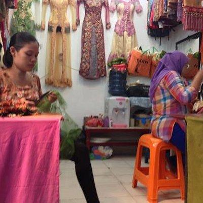 tailors at pajak ikan