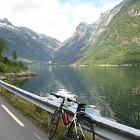 Typical view from the 3 Fjord Ride