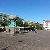 The Möllevångstorget square