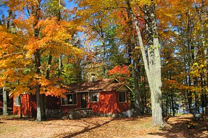 Fall is spectacular at Holiday Acres, Rhinelander, WI