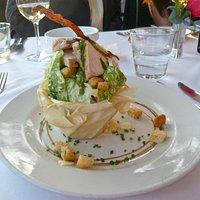 The Ceaser salad.