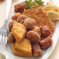 Fritto misto Piemontese, il nostro piatto tipico.