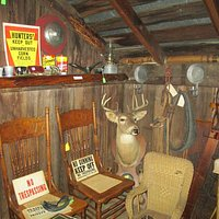 The Cabin section of  the shop.