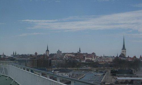 Docked in Tallinn
