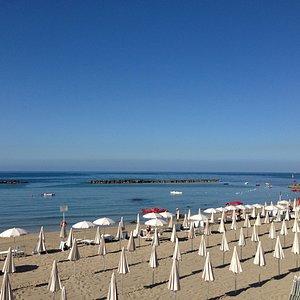 La Perla Beach di prima mattina...