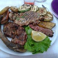 La grigliata di carne