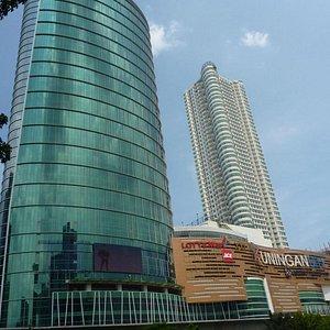 Kuningan City from Jalan Prof dr Satrio