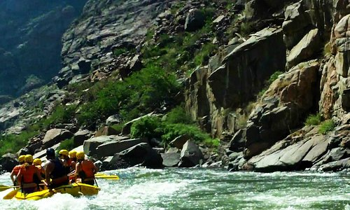 White Water Rafting in the Royal Gorge June 2013