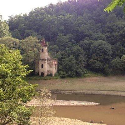 lost church at Cincis