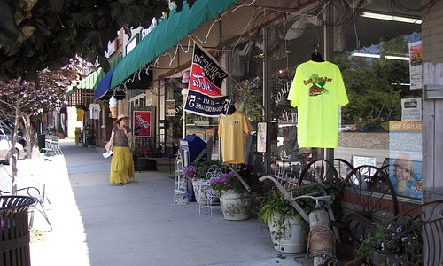 Saluda features a variety of one-of-a-kind shops sure to please even the most seasoned shopper.