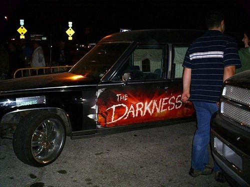 They usually have this hearse outside