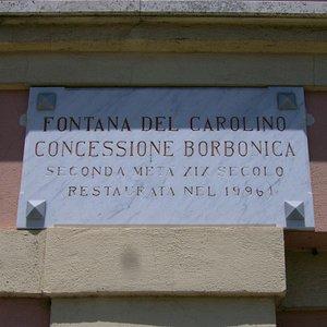 Fontana del Carolino