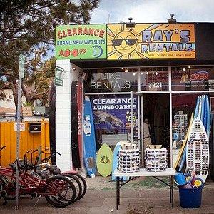 Storefront on Mission Blvd.