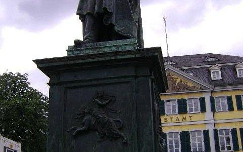 Estatua de Beethoven, Bonn, Alemania.