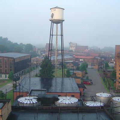 Buffalo Trace Distillery grounds