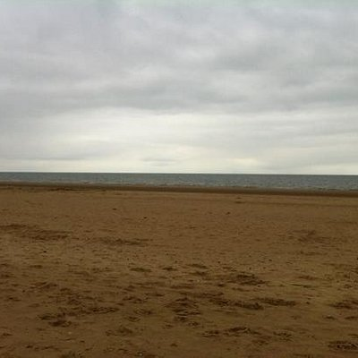 view from Brancaster beach