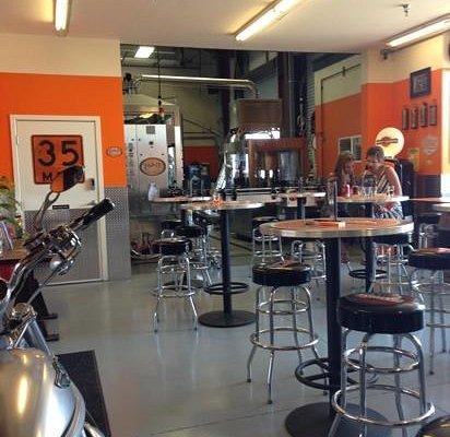 Amazing tasting room!