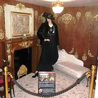 Recreation of parlour Suite Sittingroom C57 on board Titanic