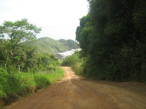 Caminho da Praia Vermelha, a beleza da natureza.