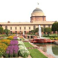 Mughal Gardens New Delhi HSR