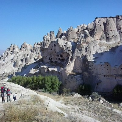 beautifull valleys of cappadocia with middle earth travel