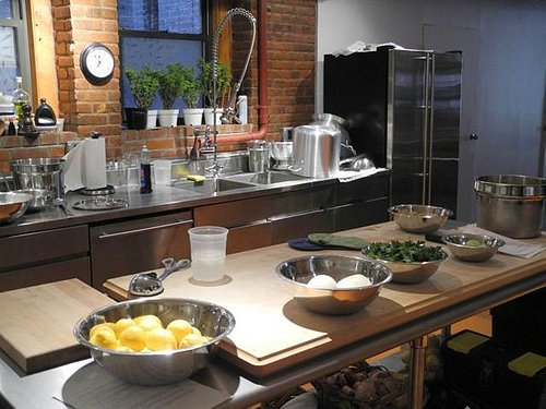 cooking class at Mulberry street