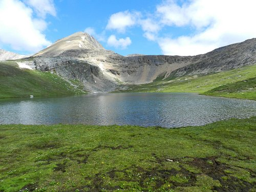 helen lake and cirque Mt