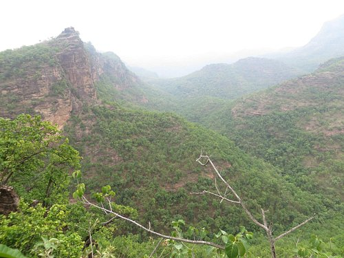 View from Priyadarshini Point