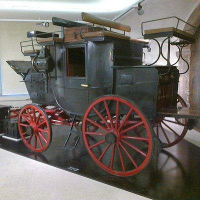 The Austro-Hungarian Mail coach