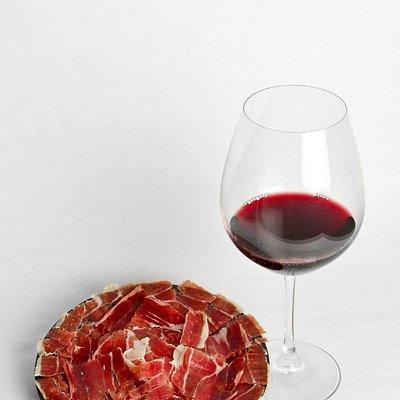 Maridaje jamón ibérico y vino