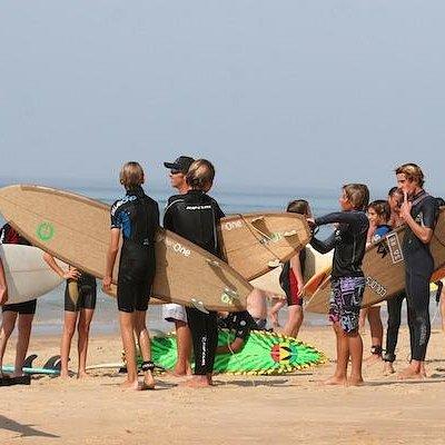 Journée test de nos planches de surf