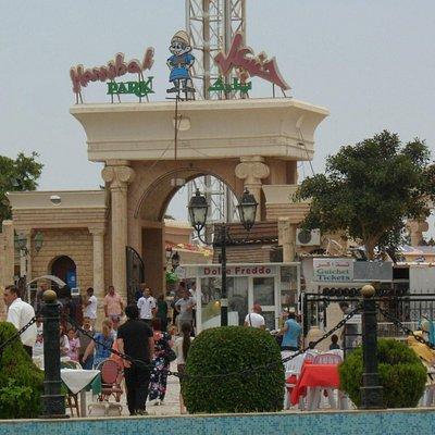 Hannibal Theme Park Entrance
