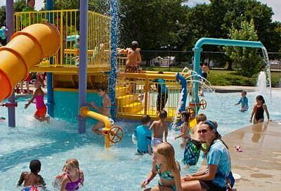 Actual photo of water park from their website.