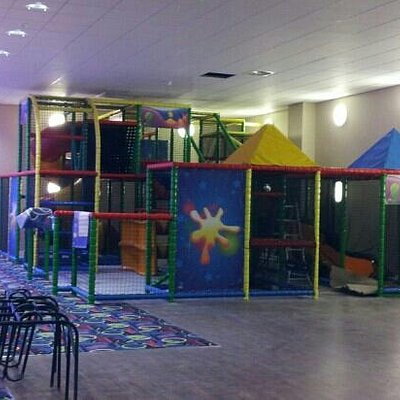 play area at Xcel bowling