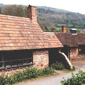 Picture of Allerford Forge from the roadside
