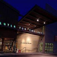 Center for the Arts - Glenwood entrance