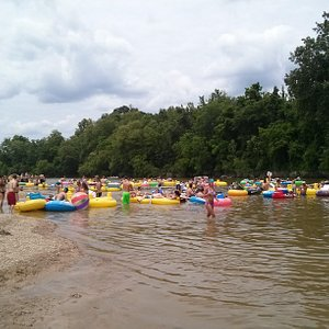 tubing on amite river