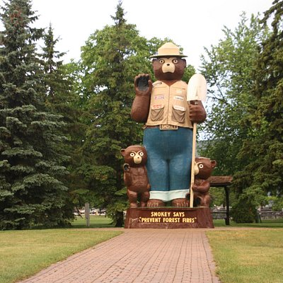Smokey Bear Park - International Falls, MN