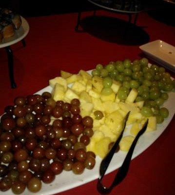 Fresh fruit on Buffet