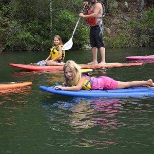 Our SUP tours are