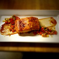 BBQ king salmon