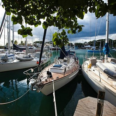 Yachts in the basin. Photo © Tor Johnson
