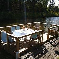 floating terrace