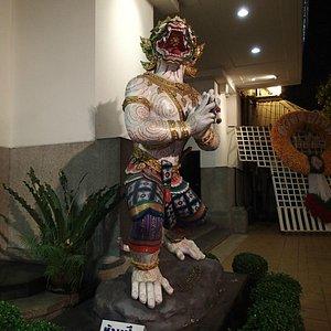 Entrance to Sala Chalermkrung Royal Theatre