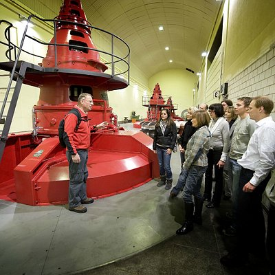 Besuch im Kraftwerk