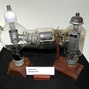Objeto exposto no Museu da Eletrônica