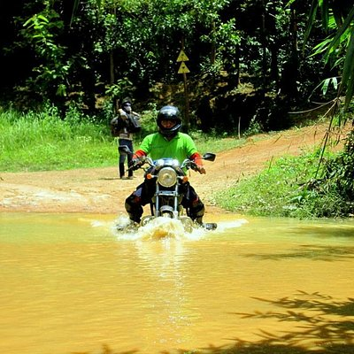 Way to Nam Cat Tien national park 2