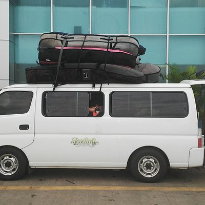 Ready for our Adventure from Panama City (Tocumen) Airport