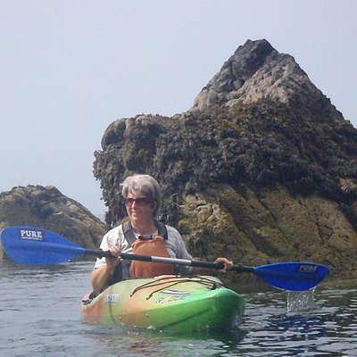Sea kayaking with Pure Adventure, July 2013
